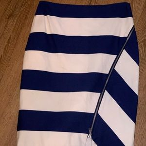 Express Stripe Skirt